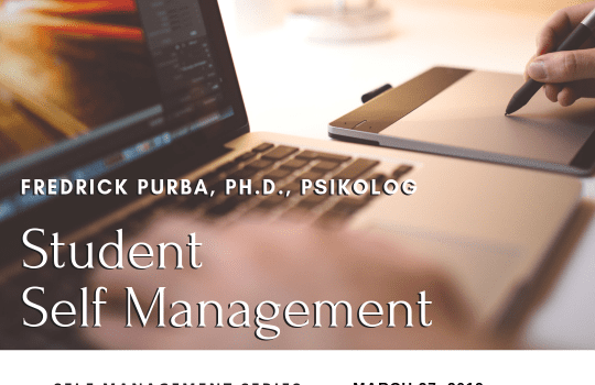 [Workshop] Student Self Management